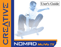 Creative Labs MuVo TX SE 512MB 70PD051000001 User Manual