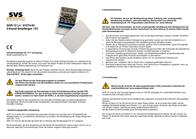 Svs Nachrichtentechnik 4-channel radio receiver with feedback 01274.93 Data Sheet