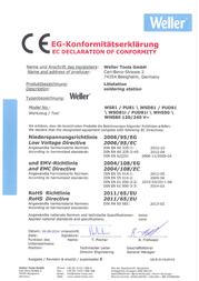 Weller WEL.WS81 005 32 506 99 Data Sheet