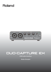 Roland UA-22 AUDIO-INTERFACE 413041E99 Data Sheet