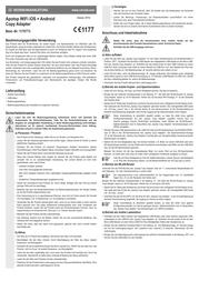 Apotop DW21 DW-21 User Manual