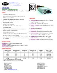 Sparkle Technology SPI4001UG SPI4001UG-B204 Leaflet