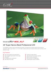 DynaScan DS46LX2 Leaflet
