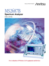 Anritsu MS2687B User Manual