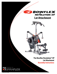 Bowflex Revolution XP Lat Tower Owner's Manual