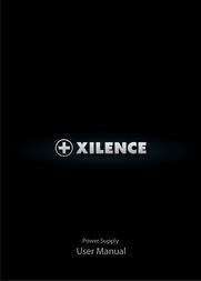 Xilence Redwing Series 420W SPS-XP420 User Manual