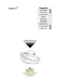 Chauvet Welding System DERBY X User Manual