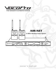 Vocopro AIR-NET User Manual