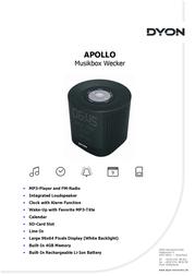Dyon Apollo D700001 Leaflet