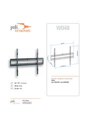 Poli Bracket W048 Leaflet