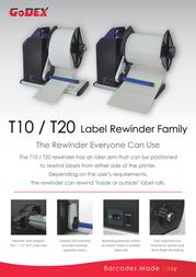 Godex T10 GP-T10 Leaflet