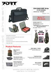 Port Designs Classic Line bag CHICAGO BFE Wide 100206 Leaflet