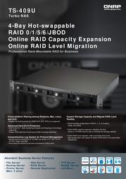 QNAP TS-409U 540103G0409TSU Benutzerhandbuch
