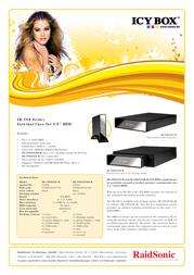 Raidsonic IB-390STUS-B Leaflet