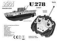 T2m T615 Ship model with remote control (T615) T615 Data Sheet
