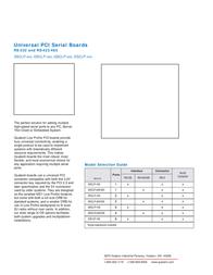 Quatech QSP-200/300 Leaflet