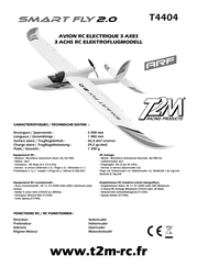T2m remote control ARF 2000 mm T4404 Data Sheet