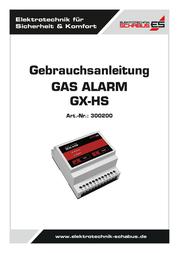 Schabus Gas detector 300200 mains-powered 300200 User Manual
