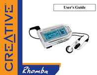Creative Labs RHOMBA 256MB MP3-PLAYER 70PF05100002 User Manual