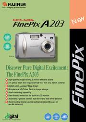 Fujifilm FINEPIX A203 ZOOM A203 Leaflet