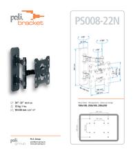 Poli Bracket W082 Leaflet