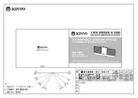 Kinyo 2.0 Portable Speaker System User Manual