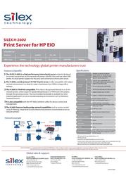 Silex H-260U E1074 Leaflet