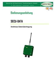 Secutech Radio modules ST002013 データシート