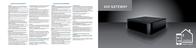 Mediola GAT-4040 N/A GAT-4040 Data Sheet