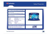 Verbatim CD-R AZO Wide Inkjet Printable 43438 Leaflet