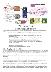 NovaMind Pro 4, CD, DE, Win/Mac 13944 User Manual