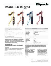 Jivo Technology Image S4i Rugged JI-1089 Leaflet