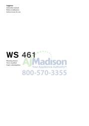 Gaggenau WS461710 Instruction Manual