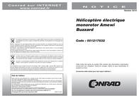Amewi BUZZARD 25137 Data Sheet