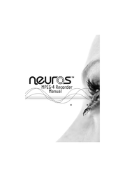 Neuros mpeg4 recorder 1 User Guide