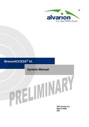 Alvarion BREEZEACCESS SW VERSION 5.1 User Manual