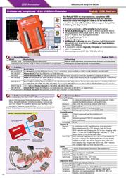 Meilhaus Electronic ME-REDLAB 3106 USB Meas-/Switch mode ME-RedLab® 3106 Data Sheet
