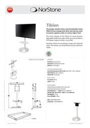 Norstone Tiblen NORTIB045ASRA Leaflet