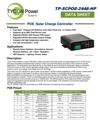 Tycon Systems TP-SCPOE-2448-HP Data Sheet
