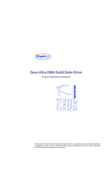 SimpleTech Zeus Ultra User Manual