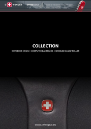 Wenger/SwissGear YUKON Single Gusset Computer Case WA-7410-02F00 User Manual