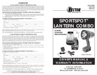 Vector SPORTSPOT VEC128BW User Manual