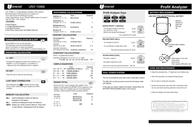 Universal Remote Control UNV-15966 Leaflet