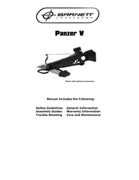Barnett Crossbows panzer v User Manual