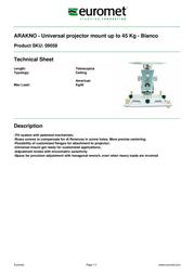 Euromet 09058 Leaflet