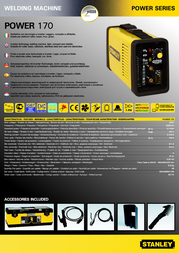 Stanley Power 170 60170 Leaflet