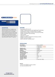 PEAK GeForce 8400GS 256MB 100289VBPK Leaflet