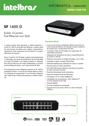 Intelbras SF 1600 D 4005065 Leaflet