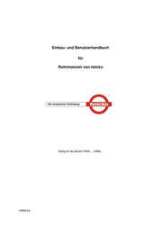 Heicko HR6050-12 Data Sheet