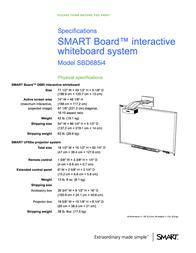 SMART Technologies UF65W User Manual